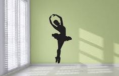 Prentresultaat vir pretty ballet wall stikers