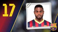 Imagen oficial de Song con la camiseta del FC Barcelona