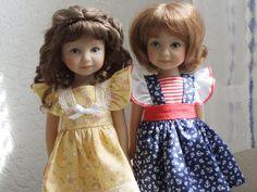 Heartstring Dolls : Mari (2014) et Eva (2013), Dianna Effner, Jo Flitton