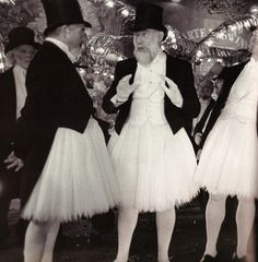 tutus and top hats
