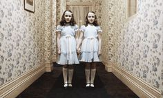 "The Shining - ""Come and play with us. Come and play with us, Danny."" - - Famous scenes from horror movies through the years Creepy Movies, Scary Gif, Movie Shots, Movie Gifs, Best Horror Movies, Good Movies, Horror Film, The Shining Twins, Creepy Kids"
