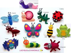 Bugs, Insects, spider, caterpillar, stag beatle, butterfly, bee, ant, ladybug, grasshopper, snail, dragonfly