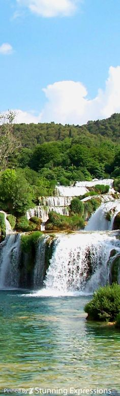 Waterfalls at Krk National Park | Croatia