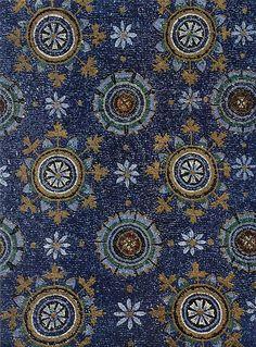 Meister des Mausoleums der Galla Placidia in Ravenna - ensimmäiset kulta ja lasikokeilut nähtävissä