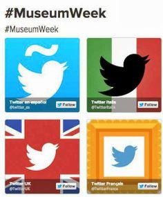 #MuseumWeek. Tutti i musei su Twitter dal 24 al 30 marzo: istruzioni per l'uso