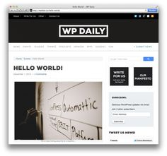 8BIT Introduces WordPress News Source: 'WP Daily'