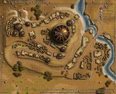Kelmarane Map by jingobingonfinky @deviantART