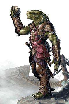 Jeu : Donjons et Dragons / dragonborn of Eberron   / http://eberron.wikia.com/wiki/Dragonborn