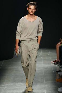 """Aesthetic nerd vacays in Sicily"" || Bottega Veneta - Spring 2015 Menswear - Look 40 of 46"