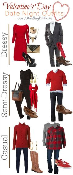 Valentine's Day Date Night Outfit Ideas {for him