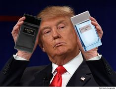 Donald Trump smells so much like a winner now, a perfume company that had jumped ship is suddenly ready to ride the President-elect's coattails to financial glory. John Trump, Donald Trump, Current President, What Have You Done, Us Presidents, Economics, Flirting, Finance, Politics