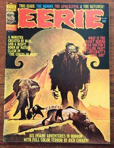 #buynow #horrorcomics #comics Eerie #62 (Jan 1975, Warren) Corben FN/VF Horror Monster
