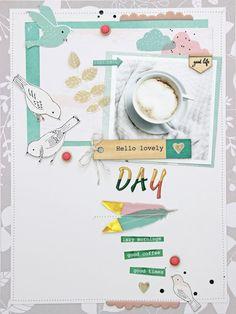 * Hello lovely day * (Pinkfresh Studio)