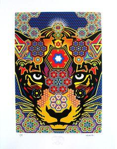 jaguar_afiche_3 http://www.guache.co/serigrafia-nino-jaguar/