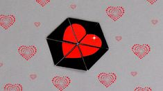 DIY - HEXAFLEXAGON ENDLESS CARD - TUTORIAL / VALENTINE'S DAY CARD IDEAS ...