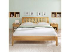 "Bett ""Ametrin"" Buche massiv 160 x 200 cm,Bild 0"