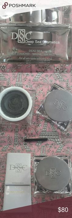🎀Sweet Deal🎀 DSC Dead Sea Black Diamond Mud Mask - Country of origin: Israel - 5.6 oz  - info from deepseacosmetics.com: - unclogs pores, smooths out fine lines & wrinkles, hydrates & moisturizes skin, magnetic minerals aim to boost oxygen & nutrients in skin - online price is $350 ( I bought at upscale mall - did not pay this amount) - Instructions included - Never used Deep Sea Cosmetics Makeup