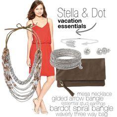 """Stella & Dot vacation essentials"" on Polyvore"
