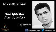 TRANSFORMA TU ESTRES: Historias de resiliencia: Muhammed Ali #Resiliencia #Historias