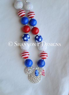 A personal favorite from my Etsy shop https://www.etsy.com/listing/230180075/patriotic-minnie-mouse-4th-of-july
