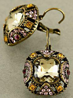 Edwardian Dia Earrings   Awesome Selection of Chic Fashion Jewelry   Emma Stine Limited
