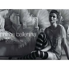 Prima Ballerina | Marie Claire Hong Kong | Who What Wear.com's Official Blog found on Polyvore featuring ballet