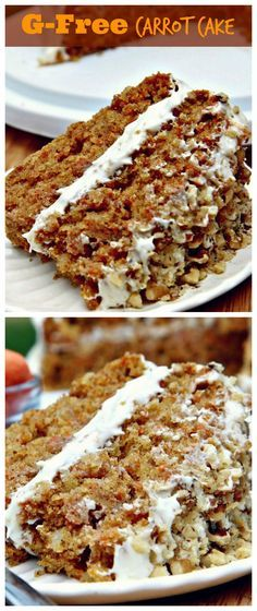 Moist & Fluffy Gluten-Free Carrot Cake Recipe