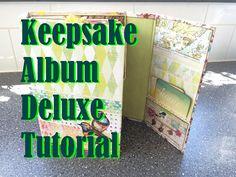 Scrapbook Tutorial: Keepsake Album Deluxe by CreatorsImageStudio