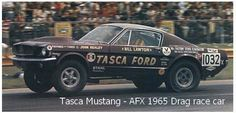 Tasca Mustang - AFX 1965 Drag race car by raccy1, via Flickr