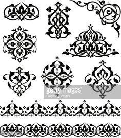 Vector Art : Arabesque Ornaments