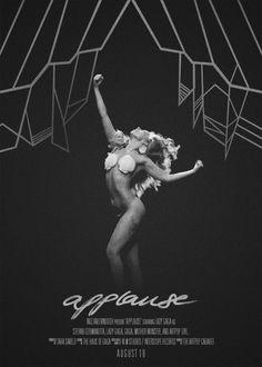 ARTPOP-paradise - Applause Posters | via Tumblr