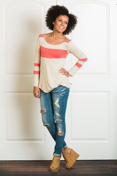 Mikayla Striped Long Sleeve