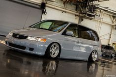 DP Motorsport Cups on Bagged Honda Odyssey 01