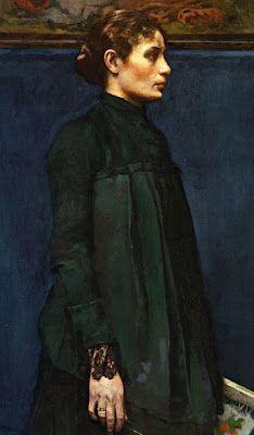 Garibaldi Melchers - Retrato de la señora Hitchcock