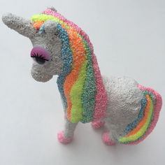 Workshop Foam Clay unicorn