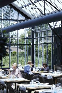 DeKas Greenhouse Restaurant - Amsterdam
