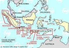 Indonesia - WannaSurf, surf spots atlas, surfing photos, maps, GPS location