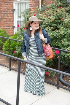 """Maxi Dress:PACT Apparel c/o 