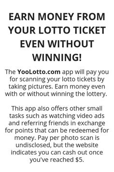 Earn Money From Your Lotto Ticket Even Without Winning! Earn Money From Your Lotto Ticket Even Without Winning!,Make Money Earn Money From Your Lotto Ticket Even Without Winning! - Wisdom Lives Here Money Ways To Earn Money, Earn Money From Home, Earn Money Online, Online Jobs, Money Tips, Money Saving Tips, Way To Make Money, Money Budget, Managing Money
