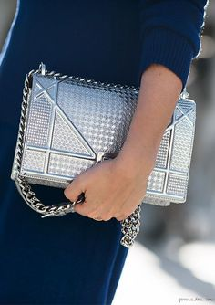 metallics garments street style fashion style trend9