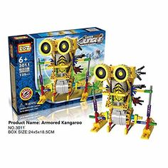 Robotic Motorized Educational Building and Assembly Toy  3011 *** Click the image to visit the Amazon website