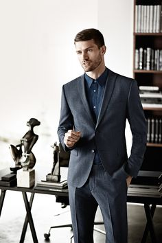 s.Oliver PREMIUM fall/winter collection 2015 #style #fall #winter #men #business #suit #denim