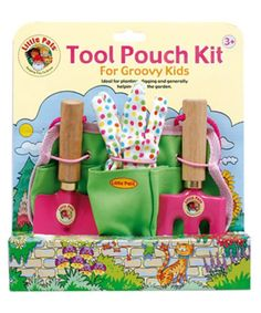 Details about Garden Hand Tools for Children - Fork, Trowel, Rake, Kits - Little Pals & Tolo for kids 🌱 Kindergarten, Tool Pouch, Garden Gifts, Hand Tools, Garden Tools, Kit, Activities, Learning, Kindergartens
