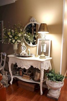 50 Awesome French Country Living Room Decor Ideas - Page 44 of 50 French Country Bedrooms, French Country Living Room, French Country Cottage, Country Farmhouse Decor, French Country Style, French Country Decorating, Cottage Decorating, Modern French Decor, French Country Bedding