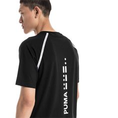 PUMA T Shirt Epoch for Man Black Size M Apparel Puma, Code Morse, Epoch, Herren T Shirt, Mens Tees, Adidas Jacket, Hooded Jacket, Short Sleeves, Clothes