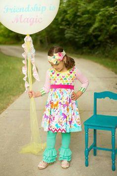 KPea - Friendship is Magic dress and Enchanted leggings (Aug. '13)