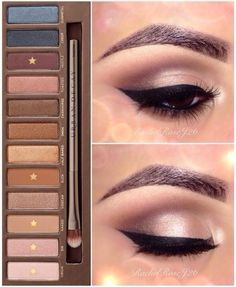 Naked Palette - I don't own this palette but the Revealed palette by Coastal Scents comes close. Nice neutral look for everyday wear.