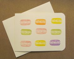 Macaroons by IdaFordPrint on Etsy, $3.50