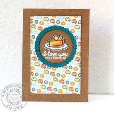 I Love You More Than Pie!   Anni-Karten   Bloglovin'
