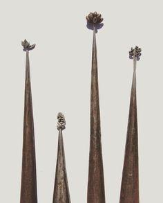 Lucie Groom Sculpture - Blacksmith Forged Steel, Blacksmithing, Succulents, Groom, Sculpture, Jewellery, Home Decor, Homemade Home Decor, Jewelery